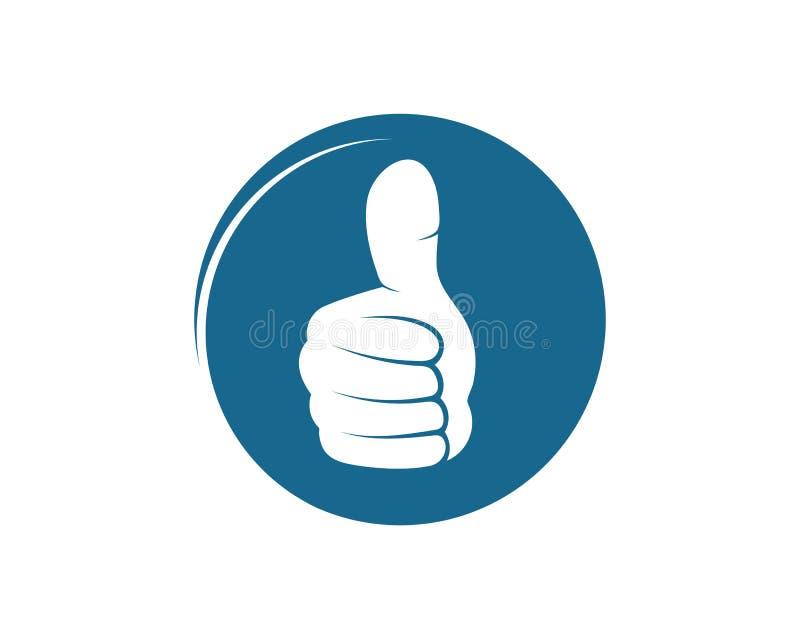 thumb hand up icon vector illustration design stock illustration