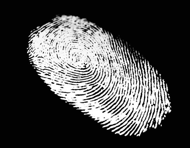 Thumb print vector illustration