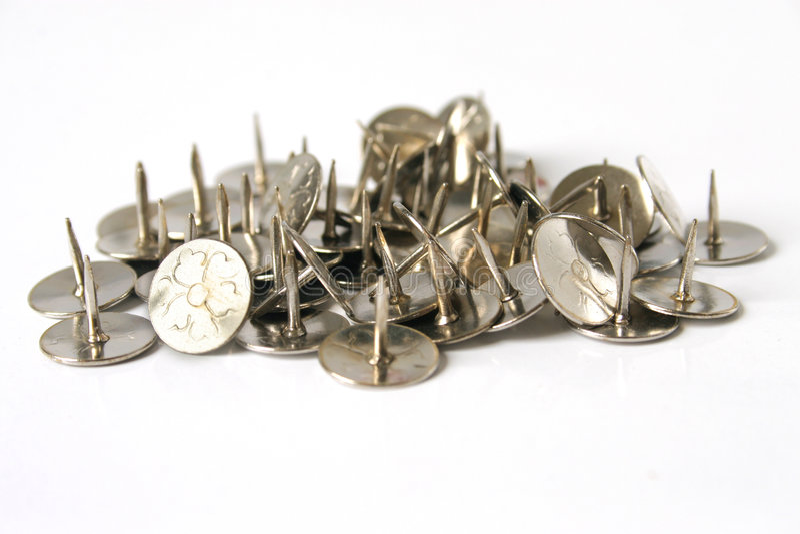 Thumb-tacks fotos de stock royalty free