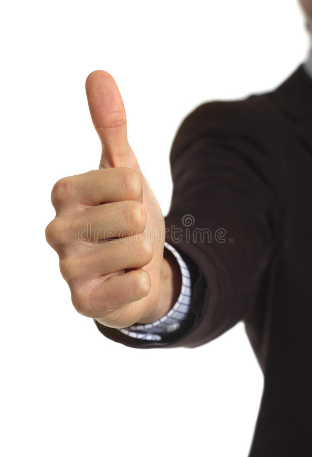 Download Thumb Up stock photo. Image of color, finger, person - 19198510