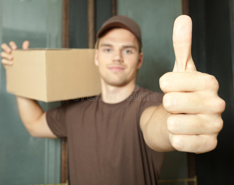Download Thumb up stock image. Image of handsome, brown, manual - 20358963