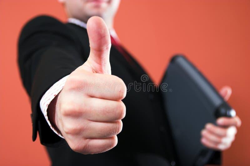 thumb up стоковая фотография