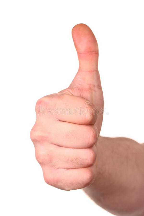 Download Thumb up stock photo. Image of good, approval, gesticulate - 23949790