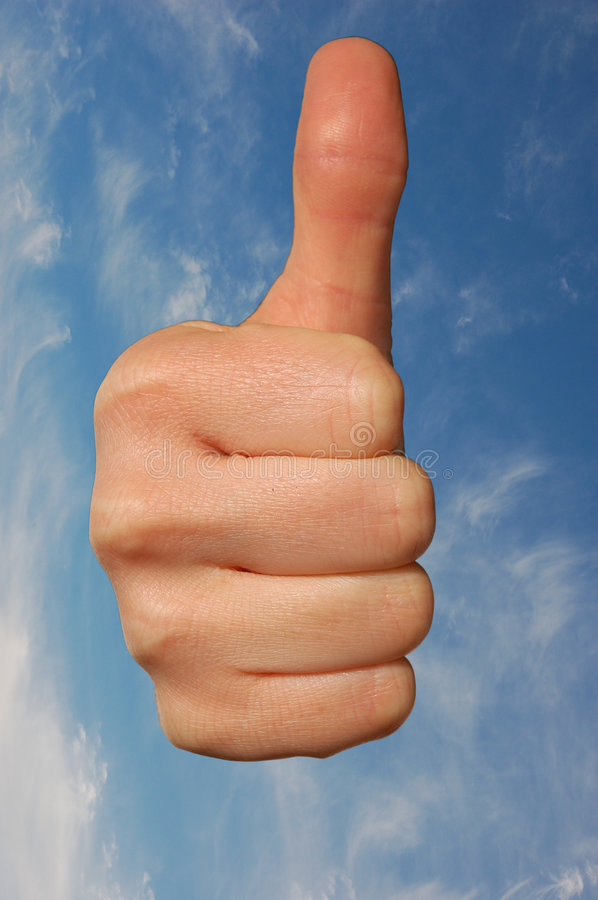 Download Thumb Up stock image. Image of thumb, symbolic, positive - 2541309