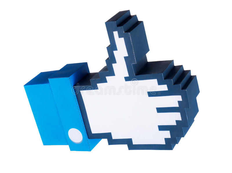 Download Thumb up icon editorial image. Image of point, cursor - 29206555