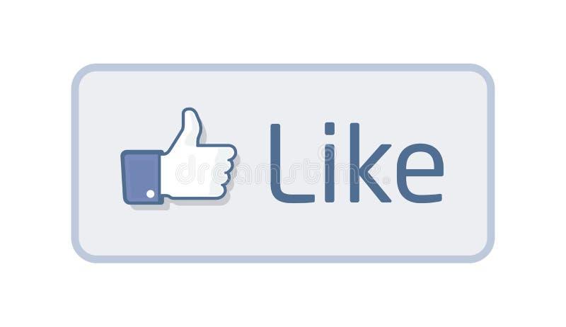 Thumb Up - Like 2 stock illustration