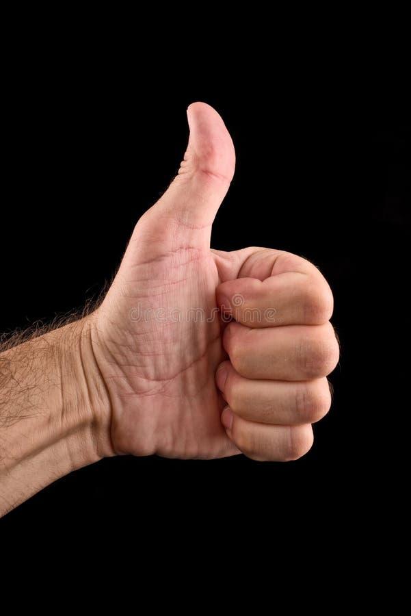 Thumb up royalty free stock photos