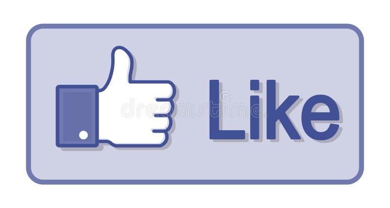 Thumb Up Like stock illustration