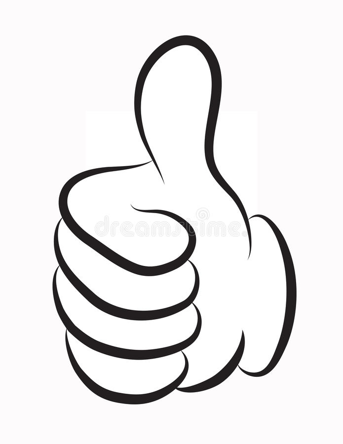 Free Thumb Up Vector Royalty Free Stock Image - 28192376
