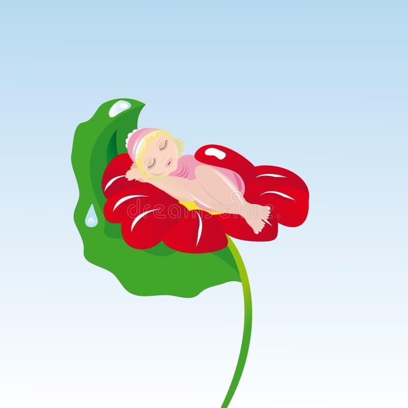 thumbelina απεικόνιση αποθεμάτων
