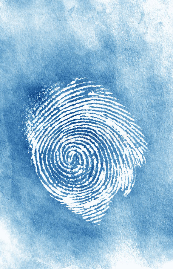 Thumbprint photos libres de droits