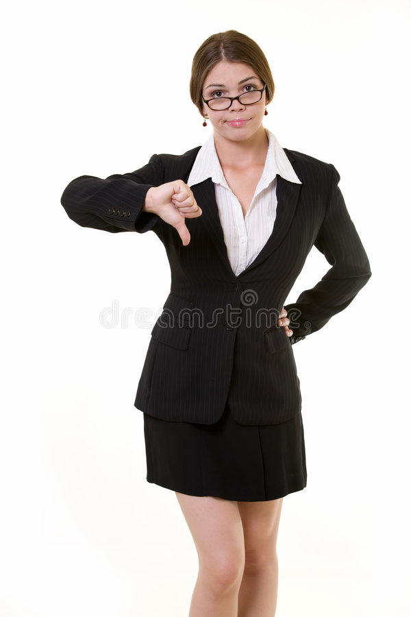 Thumbs Down Royalty Free Stock Photography
