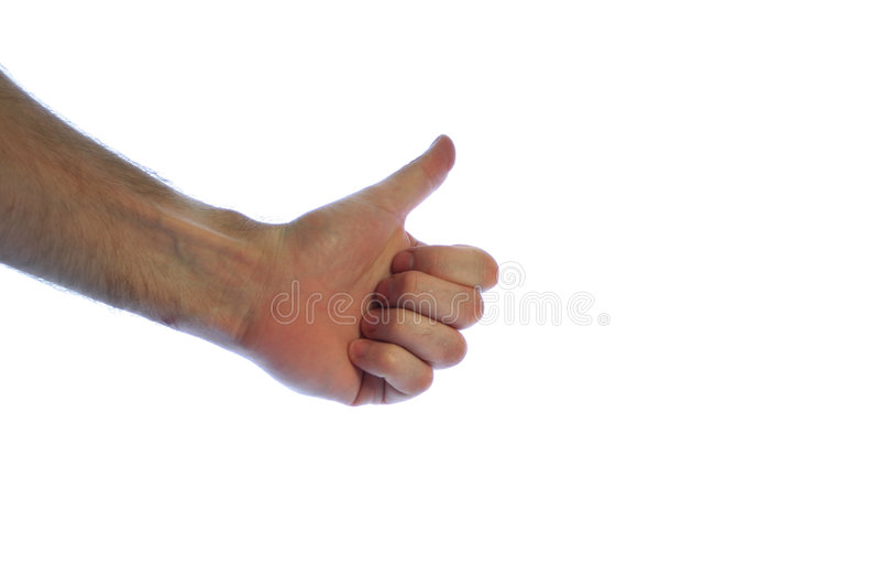 Thumbs Up Στοκ Εικόνα