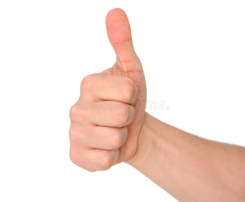 Download Thumbs up! stock image. Image of accept, gesture, finger - 104065