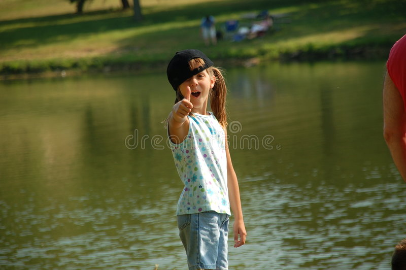 Thumbs up!! royalty free stock images
