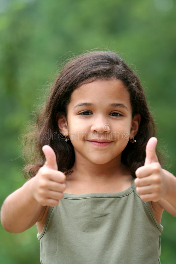 Download Thumbs Up stock image. Image of cheerful, granddaughter - 1086413