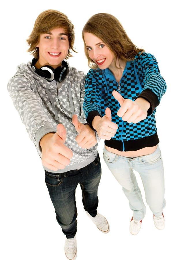 Download Thumbs up stock image. Image of student, joyful, smile - 12143257