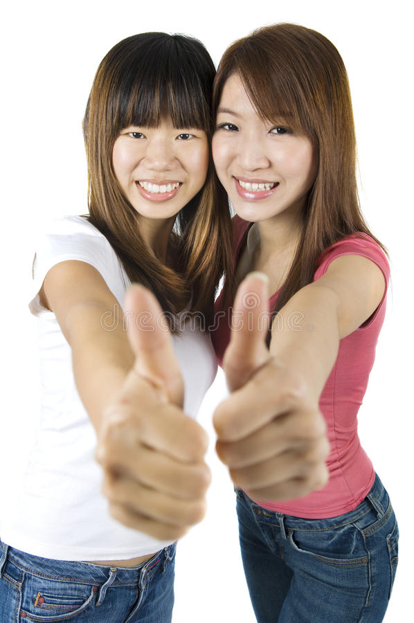 Download Thumbs up stock photo. Image of charming, casual, achievement - 12817392