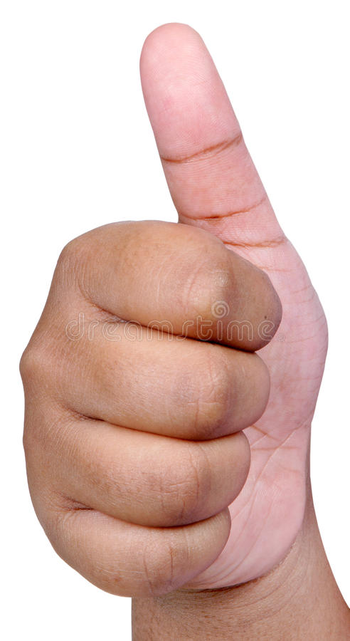 Download Thumbs up stock image. Image of alright, close, grip - 12872873