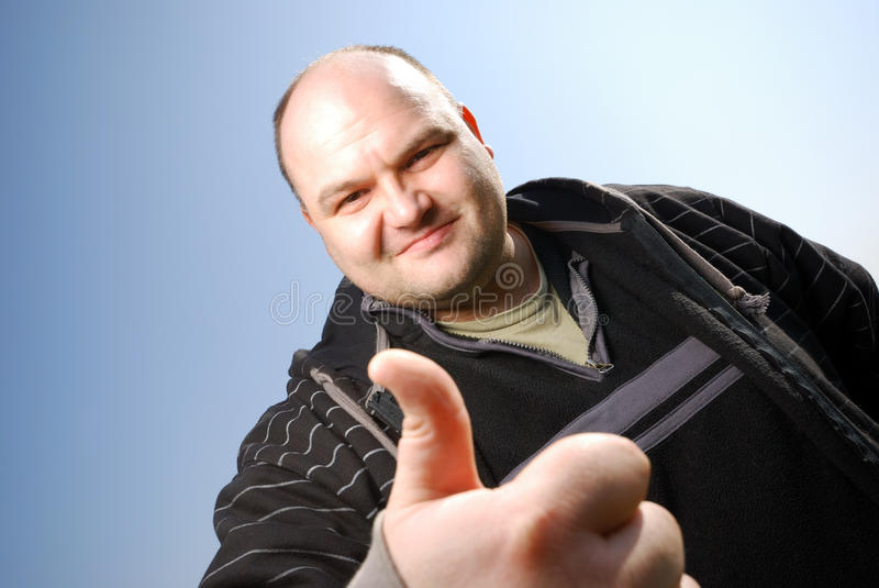 Download Thumbs up stock photo. Image of against, powerful, aged - 13285450