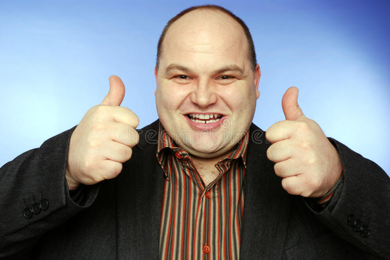 Download Thumbs up stock image. Image of smiles, smile, balding - 13420549