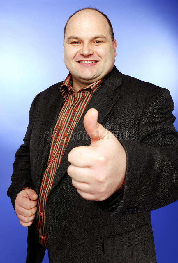 Download Thumbs up stock image. Image of middle, successful, smile - 13420717