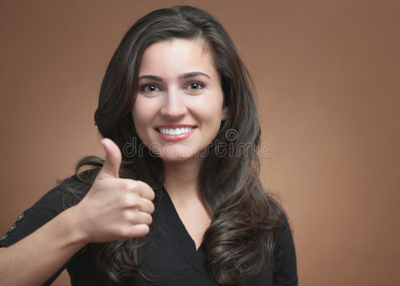 Download Thumbs up stock photo. Image of face, okay, inspiration - 14013522