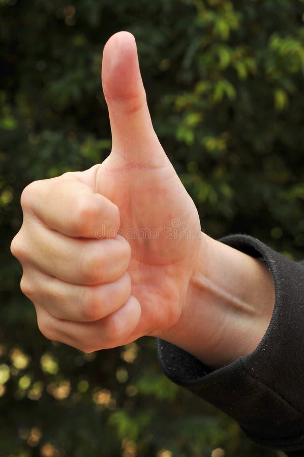 Thumbs-Up imágenes de archivo libres de regalías