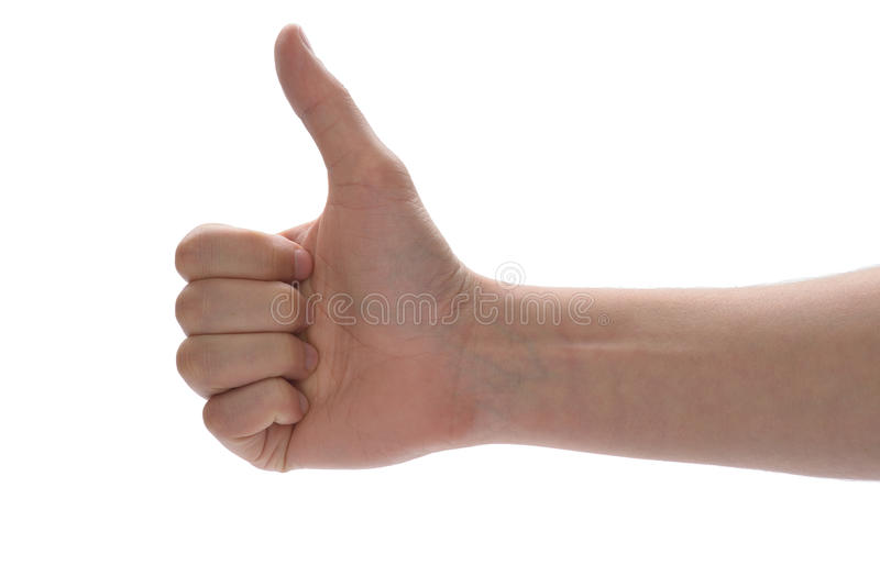 Download Thumbs up! stock image. Image of white, winner, adult - 29074035