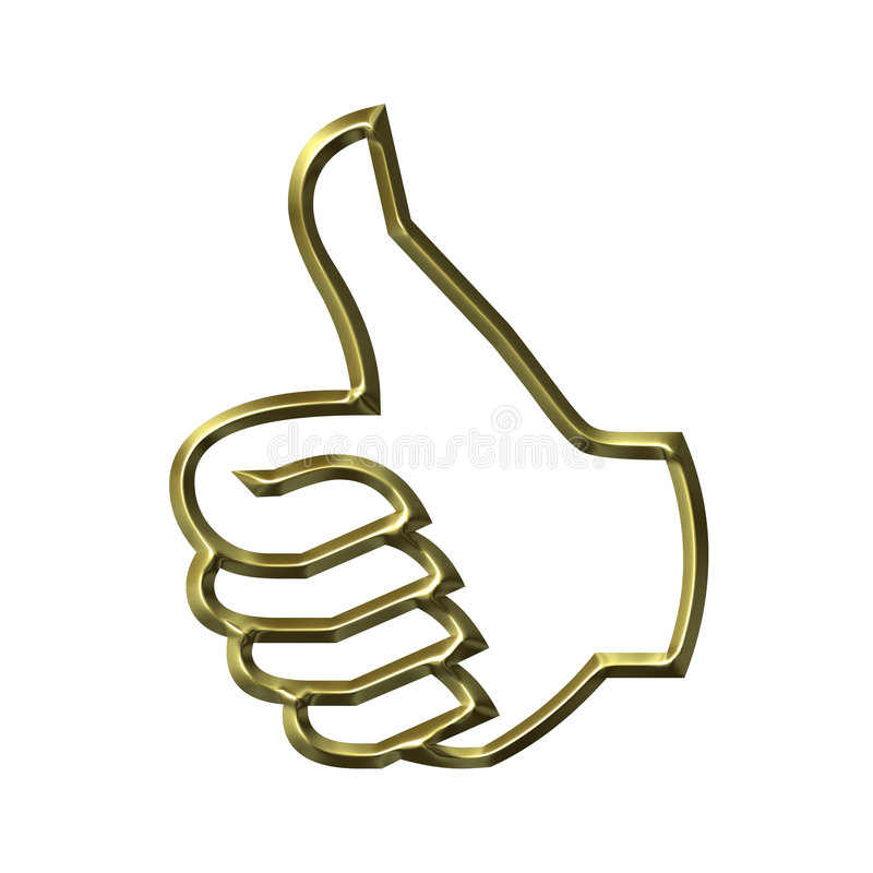 Download Thumbs Up stock illustration. Illustration of fingers - 2924716