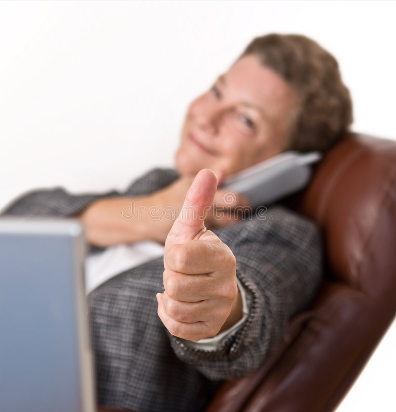Download Thumbs Up - All Systems Go! Stock Image - Image: 6325731
