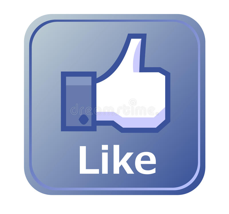 Download Thumbs Up Button - Like Button Editorial Stock Photo - Illustration of chat, rate: 25606783