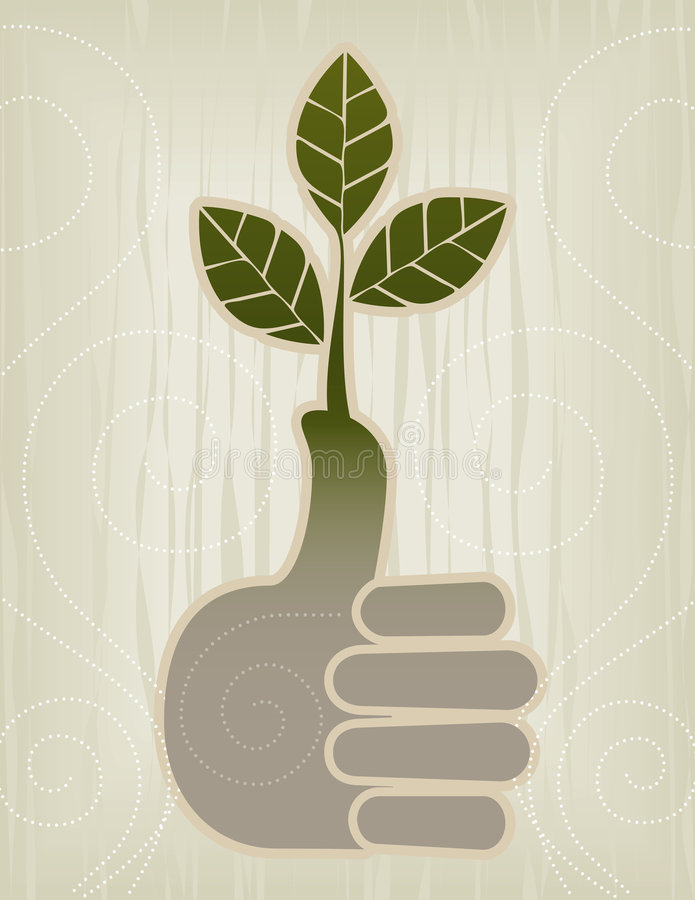 Download Thumbs Up | Green Thumb Icon Stock Vector - Illustration: 3454721