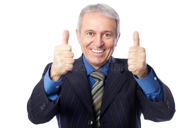 Download Thumbs up! stock photo. Image of looking, leadership - 33286946