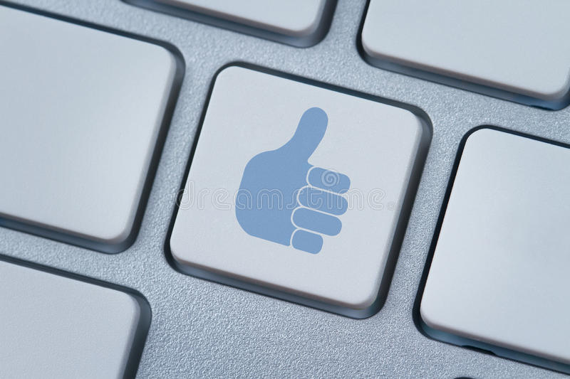 Thumbs Up Or Like Icon Stock Image Image Of Facebook 24508867
