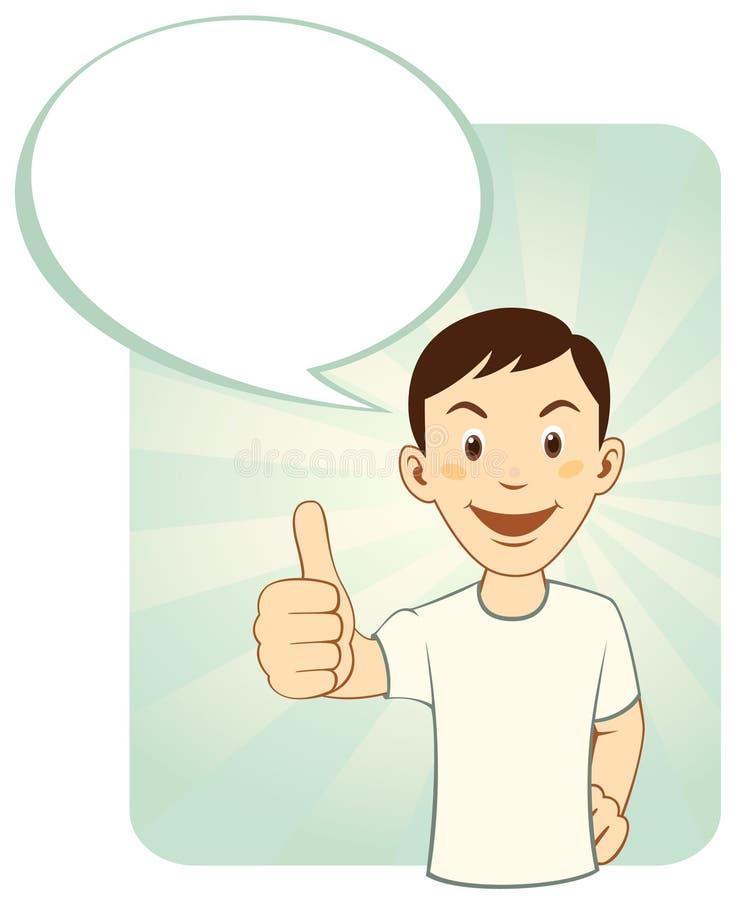 Download Thumbs Up Man stock vector. Illustration of illustration - 24216274