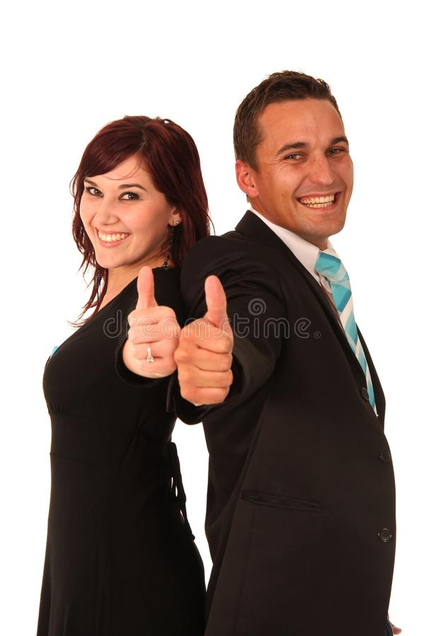 Download Thumbs Up Man and Woman stock photo. Image of adults - 10752970