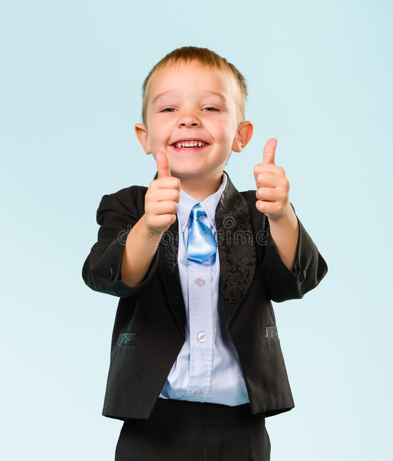 Download Thumbs up stock image. Image of pointing, boys, necktie - 33950147