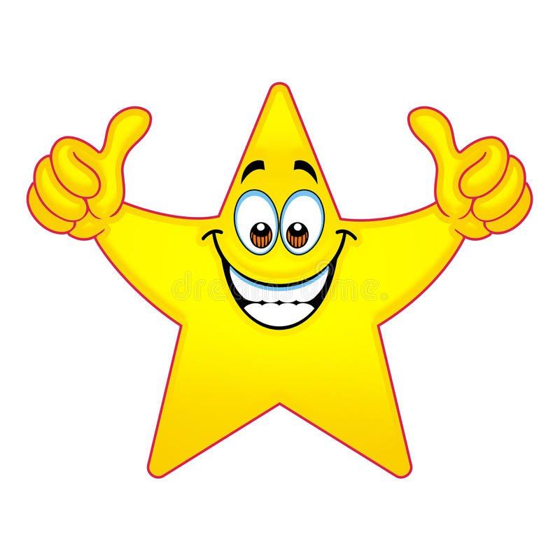 thumbs up star stock illustration illustration of stars 83557068 College Student Clip Art star student of the week clipart