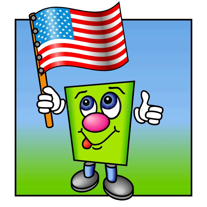 Thumbs up for USA stock photos