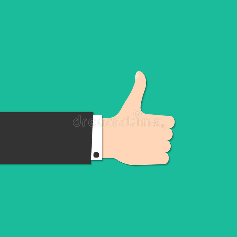 Thumbs Up stock illustration