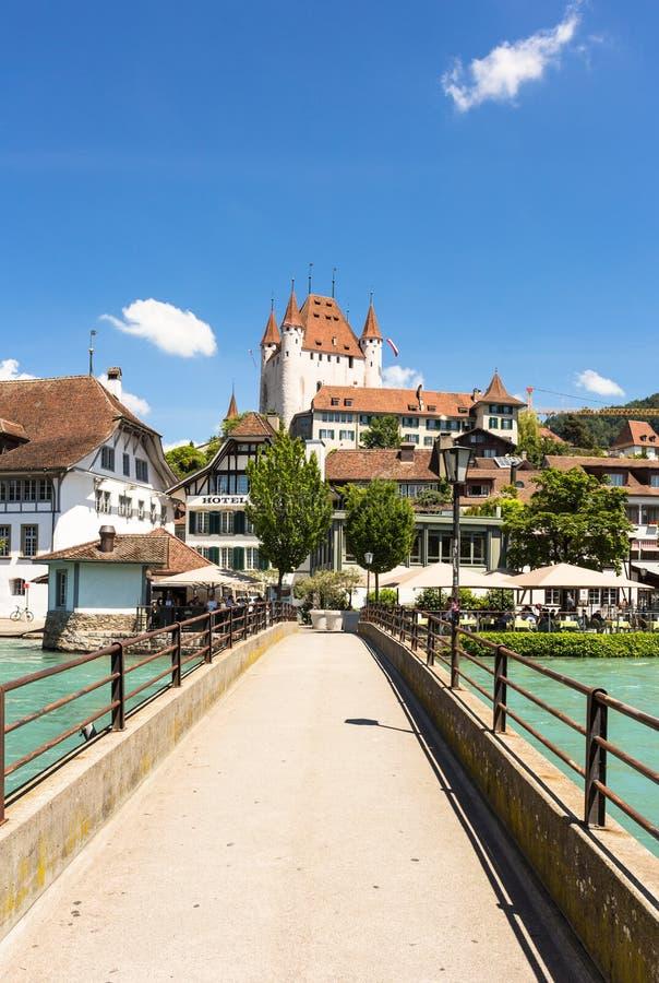 Thun Schloss stockbilder