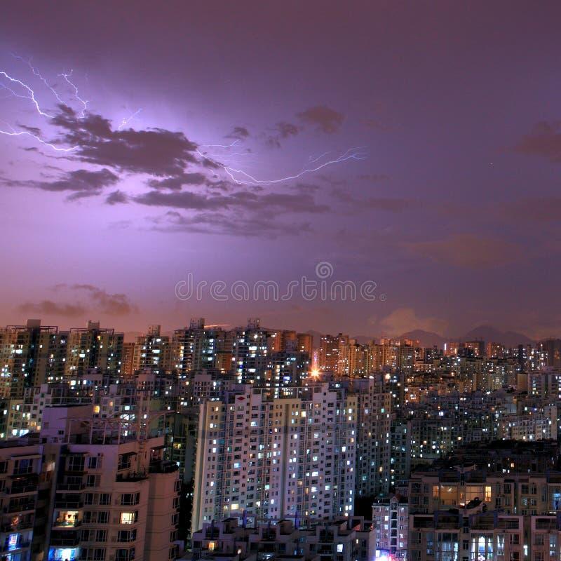 Download Thunder stock image. Image of lighten, cloud, dangerous - 24722415