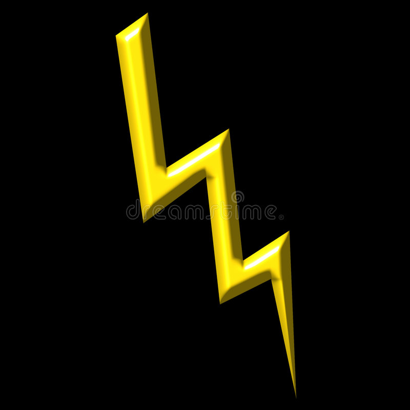 Download Thunder stock illustration. Illustration of charge, electric - 2924717
