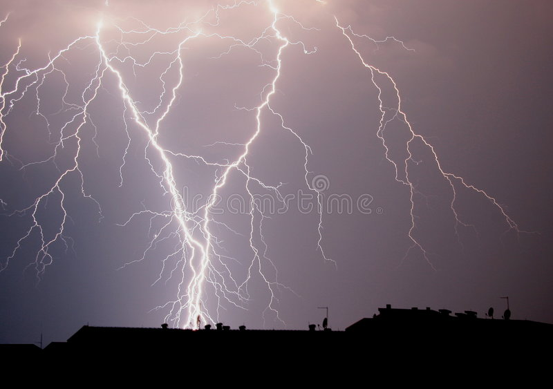 Thunder stock photo