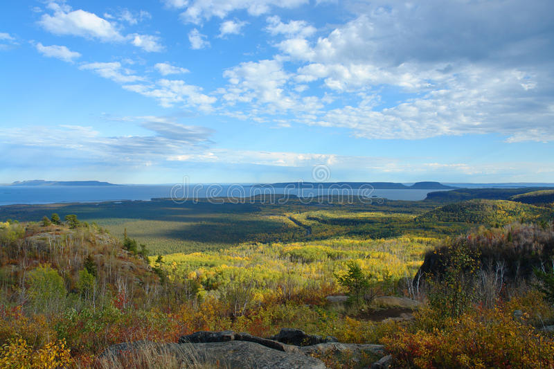 Download Thunder Bay Fall Landscape stock photo. Image of forest - 9953560