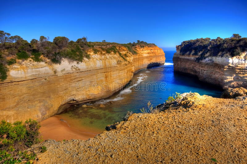 Thunder Cave in Australia royalty free stock photography
