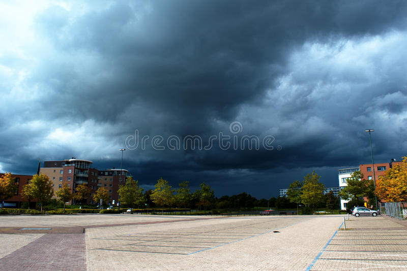 Thunder cloud royalty free stock photo