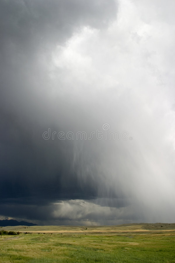 Download Thunder Clouds Roll In Across Big Sky Country, Montana Royalty Free Stock Images - Image: 772499