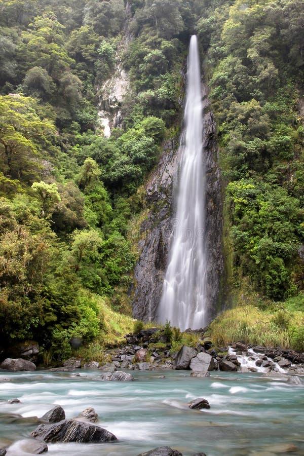 Download Thunder Creek Falls stock photo. Image of coast, valley - 22312462